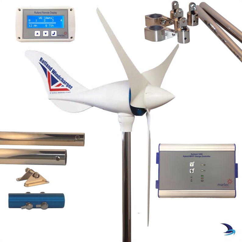 Rutland - 1200 Wind Generator Duo Expert Kit